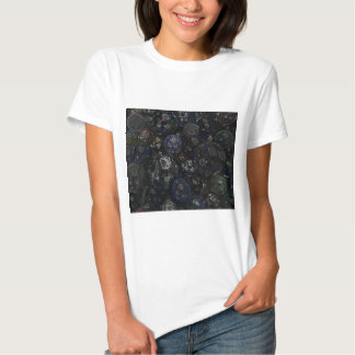 Holographic Marbles T Shirts