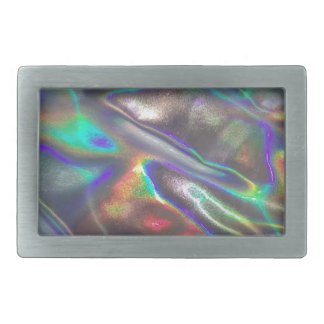 holographic rectangular belt buckle