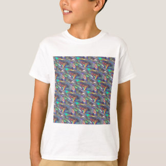 holographic silver T-Shirt