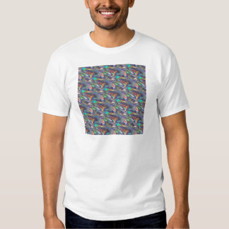 holographic silver t shirt
