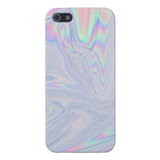 holographic style print iPhone 5s case