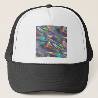 holographic trucker hat