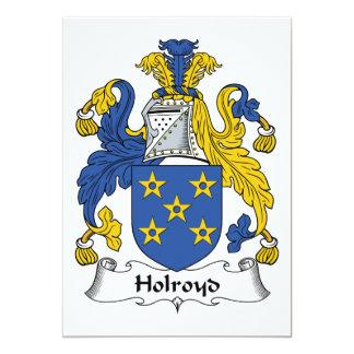 Holroyd Family Crest Card