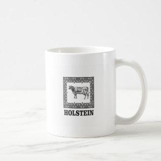 Holstein cow coffee mug