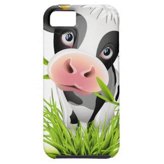 Holstein cow in grass iPhone 5 case
