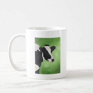 Holstein cow mug
