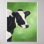 "Holstein cow print 11""x14"""