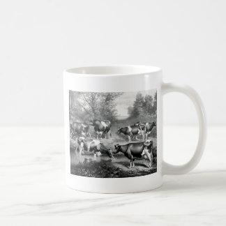 Holstein fresian cows fresian cows coffee mug