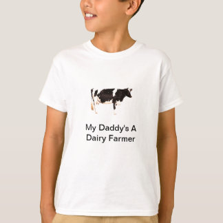 Holstein Friesian Dairy Farmer T Shirt