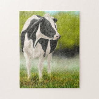 Holstein Milking Cow in Pasture Puzzle