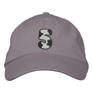 Holstein Number 5 Embroidered Hat