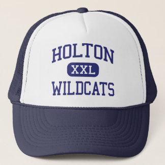Holton - Wildcats - High School - Holton Kansas Trucker Hat