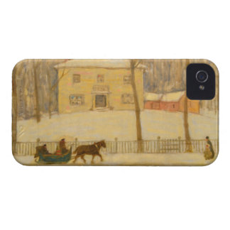 Holtons Old House in Montreal James Wilson Morrice iPhone 4 Covers