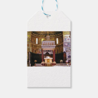 holy alter in church gift tags