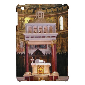 holy alter in church iPad mini case