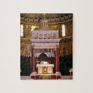 holy alter in church jigsaw puzzle