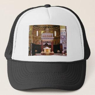 holy alter in church trucker hat