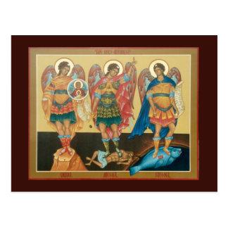 Holy Archangels Prayer Card