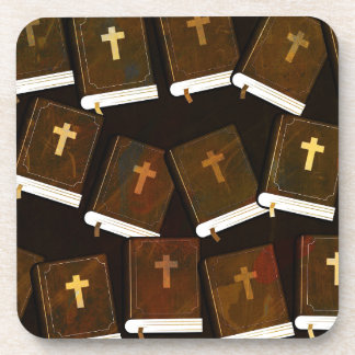 Holy Bible abstract ministry Coaster