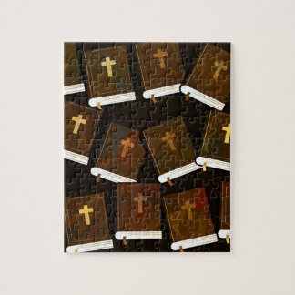Holy Bible abstract ministry Jigsaw Puzzle