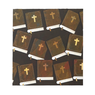 Holy Bible abstract ministry Notepad