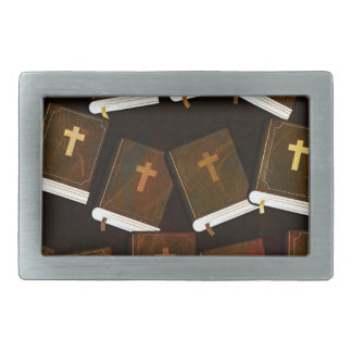 Holy Bible abstract ministry Rectangular Belt Buckle