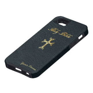 Holy Bible - add your name Case For The iPhone 5
