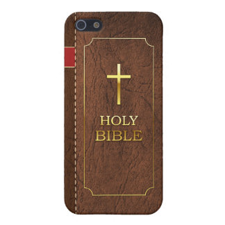 Holy Bible iPhone 5/5S Classic Leather Cover