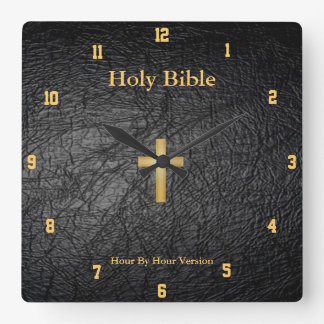 Holy Bible Wall Clock