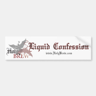 Holy Brew bumper sticker