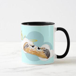 'holy cannoli !'  humorous parody mug