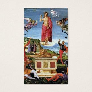 Holy Card: Kinnaird Resurrection Business Card