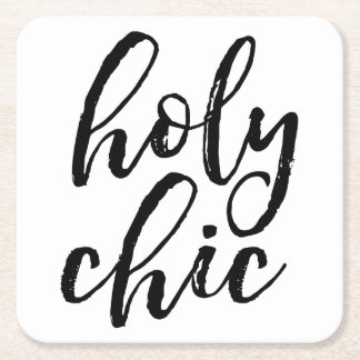 Holy Chic Square Paper Coaster