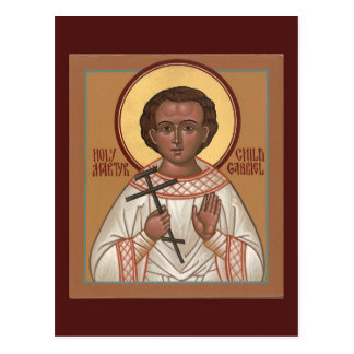 Holy Child Martyr Gabriel Prayer Card