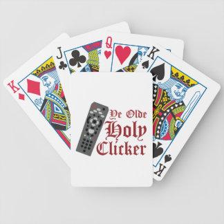 Holy Clicker Poker Deck