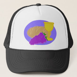 Holy Communication Drawing Trucker Hat