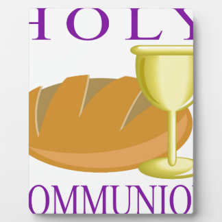 Holy Communication Plaque