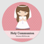 Holy Communion Girl * Choose your background