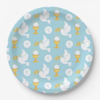 Holy Communion Paper Plate