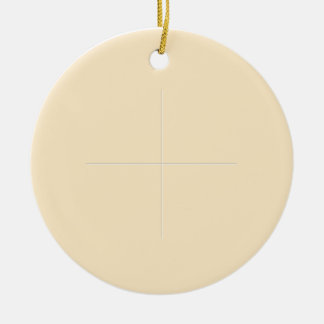 Holy Communion Round Ceramic Ornament