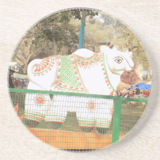 HOLY COW animal statue exhibition festival show Coaster