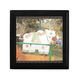 HOLY COW animal statue exhibition festival show Jewelry Boxes