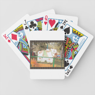 HOLY COW animal statue exhibition festival show Poker Deck