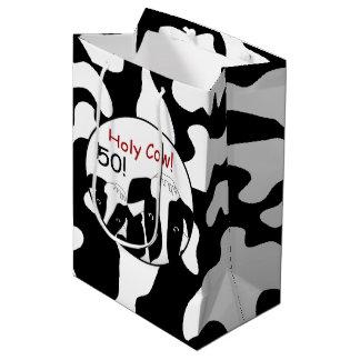Holy Cow Birthday MGB Medium Gift Bag