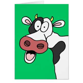Holy Cow You're 75! Funny 75th Birthday Card