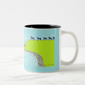 Holy Cows of Ireland Two-Tone Coffee Mug
