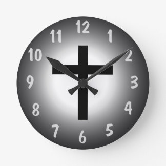 Holy Cross Clock. Round Clock
