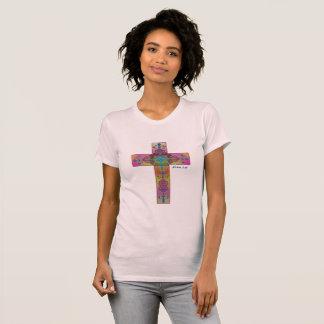 Holy Cross, John 3:16 T-Shirt