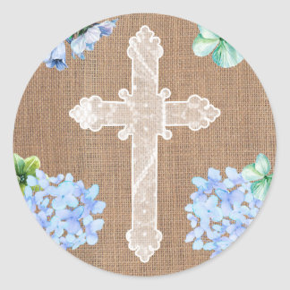 Holy Cross stickers for Confirmation or Communion