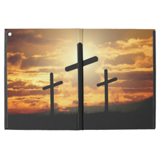 """Holy Crosses In the Sunset iPad Pro 12.9"""" Case"""